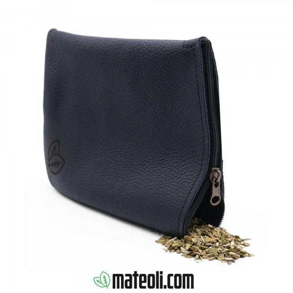 Leather Bag for Yerba Mate